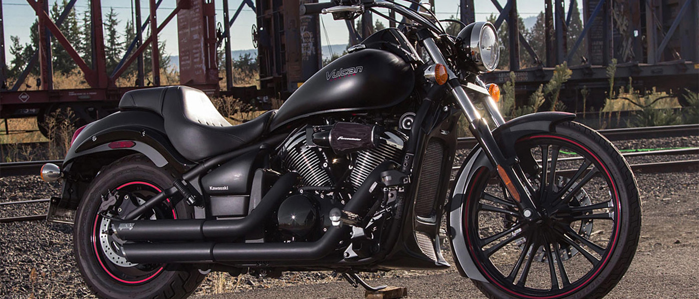 Kawasaki Vulcan 900 Gloss Black Forcewinder Motorcycle Intakes Fuel Filter