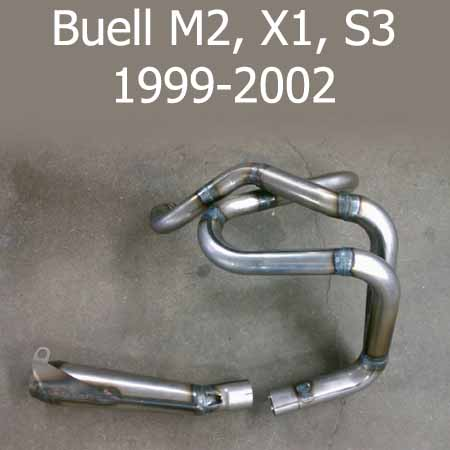 BUELL M2, X1, S3 EXHAUST SYSTEM BY FORCEWINDER